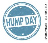 hump day grunge rubber stamp on ...   Shutterstock .eps vector #1117858415