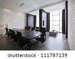 empty meeting room | Shutterstock . vector #111787139