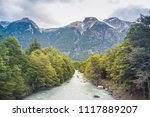 baker river at  carretera... | Shutterstock . vector #1117889207