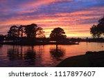 Florida Sunset at EPCOT