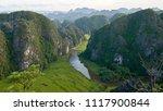 beautiful landscape. aerial... | Shutterstock . vector #1117900844