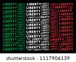 italy flag flat mosaic formed... | Shutterstock .eps vector #1117906139