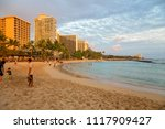 honolulu hawaii eua   12 abril... | Shutterstock . vector #1117909427