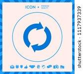 reset button  reload arrows   Shutterstock .eps vector #1117937339