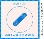 medical  plaster  adhesive... | Shutterstock .eps vector #1117938959