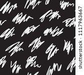messy irregular zigzag lines... | Shutterstock .eps vector #1117963667