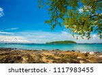 koh sri chang beach from... | Shutterstock . vector #1117983455