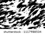 abstract monochrome grunge... | Shutterstock .eps vector #1117988534