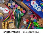 back to school | Shutterstock . vector #1118006261