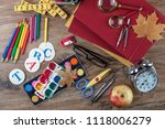 back to school | Shutterstock . vector #1118006279