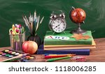back to school | Shutterstock . vector #1118006285