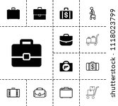 briefcase icon. collection of...   Shutterstock .eps vector #1118023799