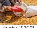 dehumidification process... | Shutterstock . vector #1118031674