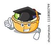 graduation fruit tart character ... | Shutterstock .eps vector #1118083799