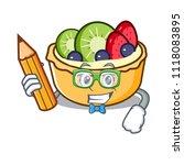student fruit tart character... | Shutterstock .eps vector #1118083895