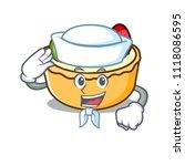 sailor fruit tart character... | Shutterstock .eps vector #1118086595