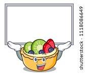up board fruit tart character... | Shutterstock .eps vector #1118086649