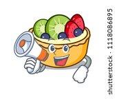 with megaphone fruit tart... | Shutterstock .eps vector #1118086895