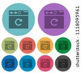 browser reload darker flat...   Shutterstock .eps vector #1118095961