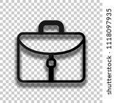 briefcase  office bag. black...