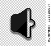 simple volume medium. black...