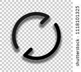 simple arrows  update  reload....   Shutterstock .eps vector #1118101325
