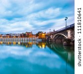 dramatic panorama of seville... | Shutterstock . vector #111810641