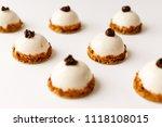 mousse dessert with vanilla... | Shutterstock . vector #1118108015