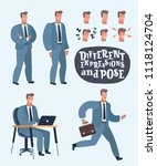 vector cartoon illustration of... | Shutterstock .eps vector #1118124704