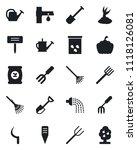 set of vector isolated black... | Shutterstock .eps vector #1118126081