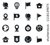 set of simple vector isolated... | Shutterstock .eps vector #1118139875