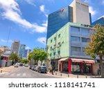 tel aviv yafo  israel   june 6  ... | Shutterstock . vector #1118141741