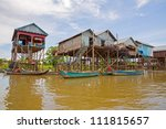 Homes On Stilts On The Floating ...