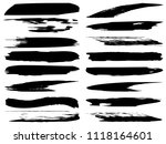 vector collection of artistic... | Shutterstock .eps vector #1118164601