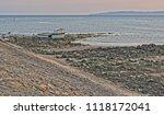 boat run aground irvine... | Shutterstock . vector #1118172041