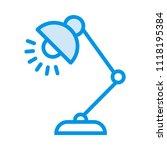 light lamp bulb  | Shutterstock .eps vector #1118195384