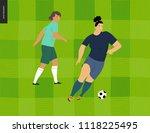 womens european football ... | Shutterstock .eps vector #1118225495
