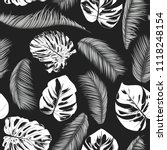 tropic seamless pattern with... | Shutterstock .eps vector #1118248154