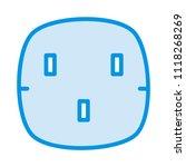 socket outlet plugin  | Shutterstock .eps vector #1118268269