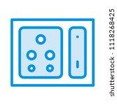 socket outlet switch  | Shutterstock .eps vector #1118268425