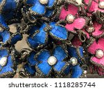 pattern of the color  daisy... | Shutterstock . vector #1118285744