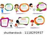 lllustration of kids engaging...   Shutterstock .eps vector #1118293937