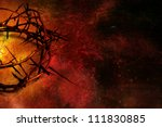 Crown Of Thorns On Textured...
