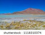 volcan licancabur uyuni bolivia ...   Shutterstock . vector #1118310374