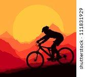 Mountain Bike Rider In Wild...