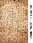 image texture of burlap. | Shutterstock . vector #111832439