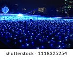 winter illuminations light...   Shutterstock . vector #1118325254