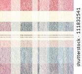 Retro Square Tablecloth Texture