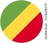 circular flag of congo   Shutterstock .eps vector #1118328479