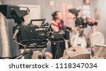behind the scene. multiple... | Shutterstock . vector #1118347034
